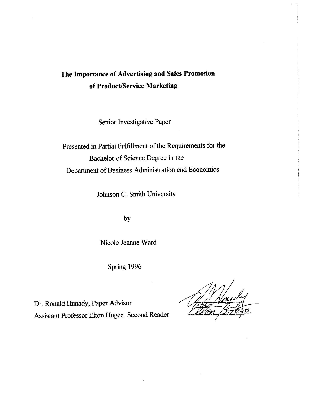 importance of sales promotion pdf
